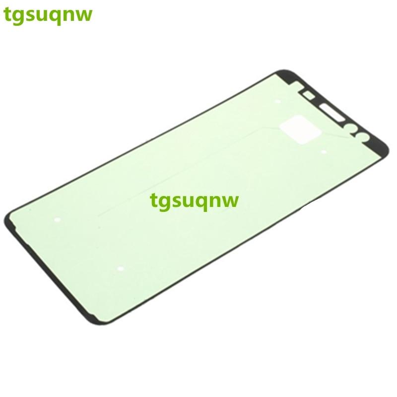 Frente + atrás cinta pegamento adhesivo pegatina para Samsung Galaxy A8 2018 A530 LCD carcasa para placa de marco a la cubierta de la batería adhesivo