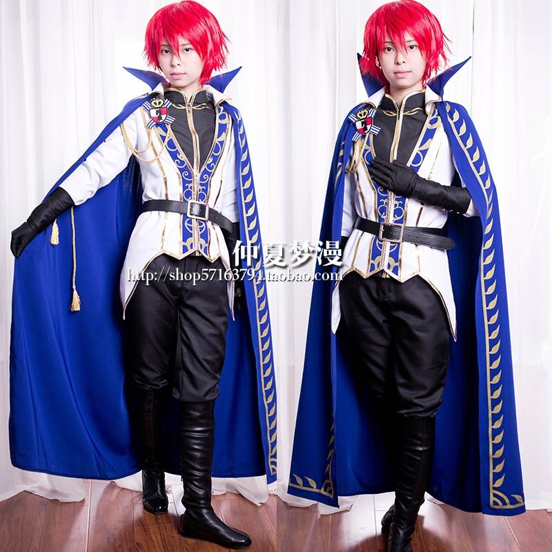 Conjunto completo de disfraz de Cosplay de caballeros Izumi Sena