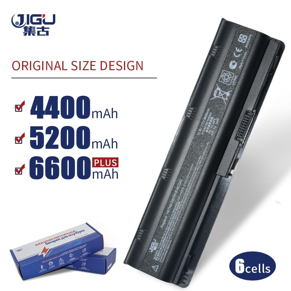 JIGU 593553-001 Hstnn-q47c For HP Pavilion G6 G62 MU06 For Compaq CQ42 Laptop Batteries Dv6-6000