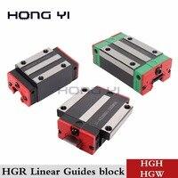 linear guide rail block HGH15CA HGW15CC HGH20CA HGH25CA HGH30CA linear block carriage HGR15 for CNC parts