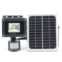 10W COB LED Solar Motion Licht LED Flood Garten Licht Pir Motion Sensor LED Solar Licht Wasserdicht