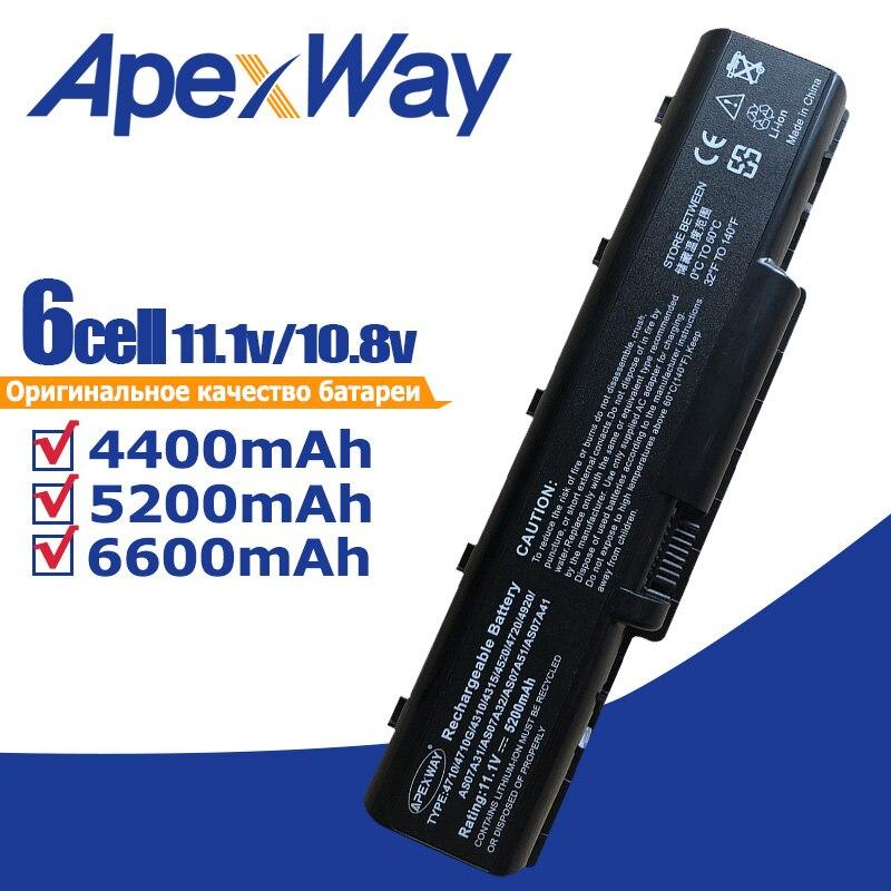 11,1 V AS07A31 AS07A41 AS07A71 batería para AcerAspire 4720 4730 5735Z 5737Z...