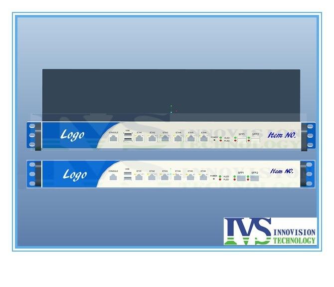 Customized 1U  2*Intel 82599ES 10Gigabit  SFP Fiber Port router server  i3 i5 i7 SIX  82574L Lans bypass SYS-1U380-BF No stock