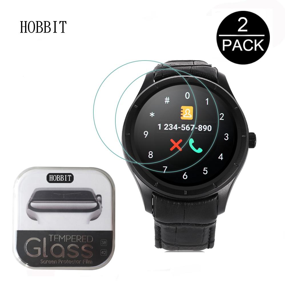 2 упаковки для Finow Q3 / Q3 Plus K18 KW18 DM368 0,3 мм 2.5D 9H Закаленное стекло протектор экрана для Finow Q3 Plus Смарт-часы пленка