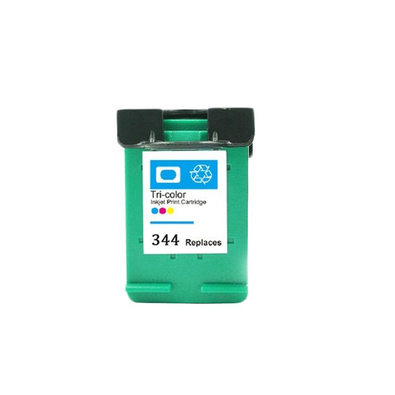 2X cartucho de tinta remanufacturado para HP 344 Deskjet serie 460 460c 460cb 460wbt 5740, 5745, 5940, 6520, 6540, 6620, 6840 HP Officejet 7210