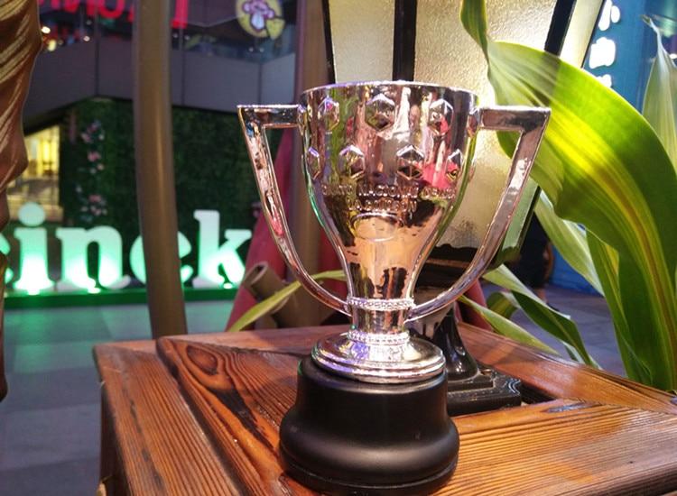 La Liga Championship Trophy cup Football Soccer Souvenirs Award for Soccer Match Award The Champions Award Free Shippin