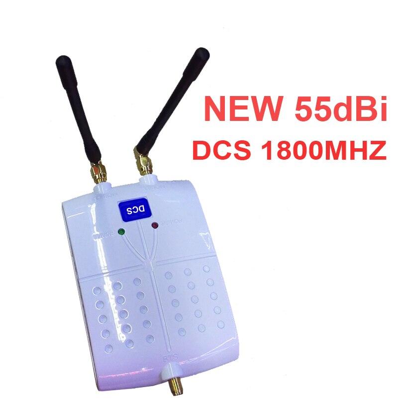 Amplificateur de signal 55dbi DCS, nouveau modèle avec répéteur anteanna DCS, amplificateur de signal pour téléphone portable, 1800mhz