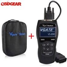 2021 Новый OBD2 сканер Vgate Maxiscan VS890 OBD 2 Автомобильный сканер автомобильный диагностический инструмент odb2 автомобильный диагностический сканер считыватель кодов