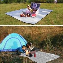 Foldable Camping Mat Folding Sleeping Pad Mattress Outdoor Travel Waterproof Picnic Mat Aluminum Foil+EVA Pad for outdoor 3 Size