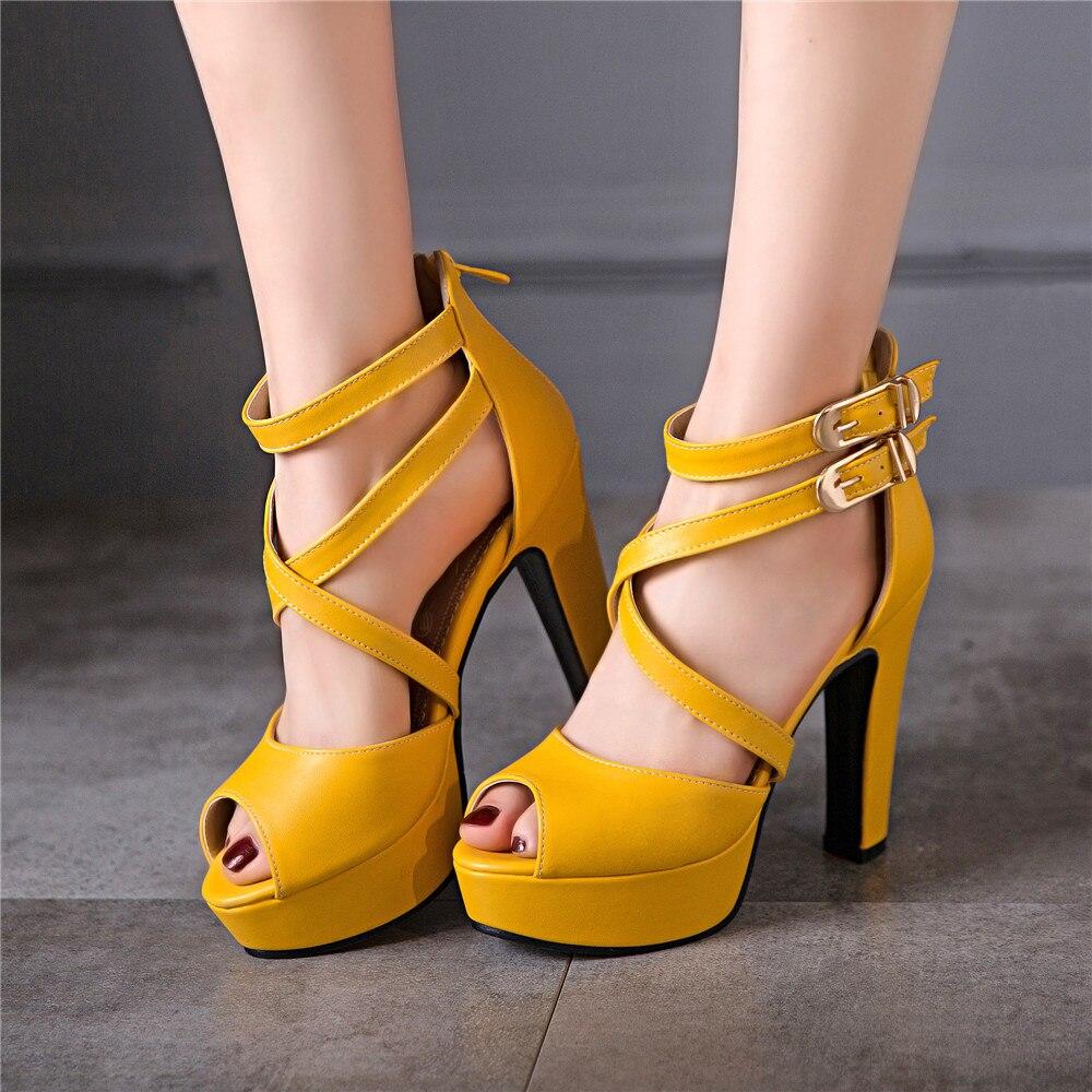 2017 senhoras sapatos gladiador sandálias femininas tamanho grande 48 49 50 sandálias senhoras senhora festa de casamento sapatos salto alto bombas 3126