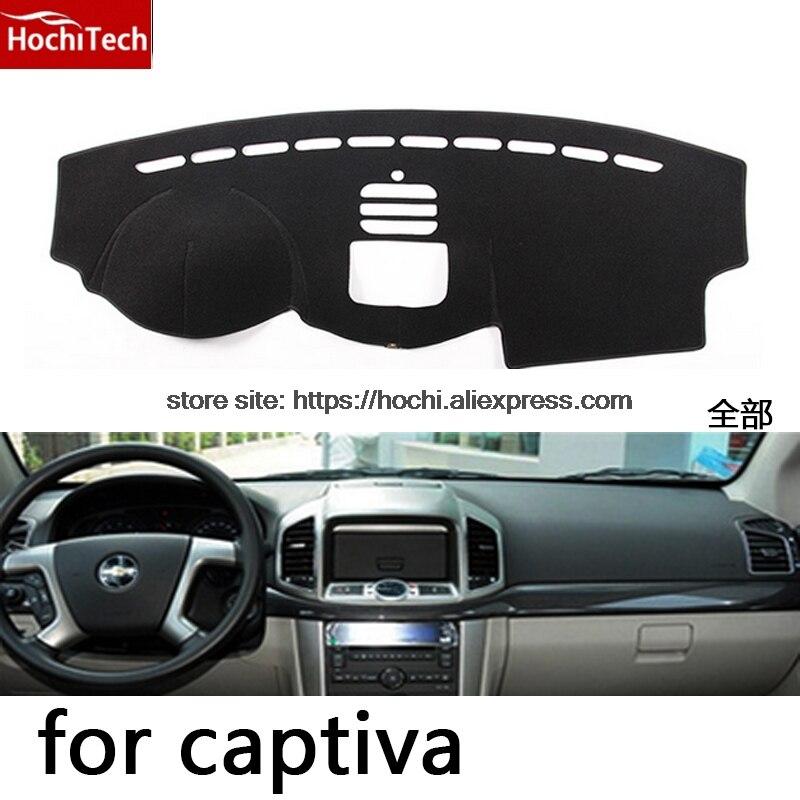 Alfombrilla HochiTech para tablero chevrolet captiva, alfombrilla protectora, cojín de sombra, accesorios de estilo de coche