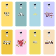 TPU Silikon Telefon Fall Für Huawei Honor 6 5A 4X 5X 6X Gelb Zitieren Rosa Lila Weiche Rückseitige Abdeckung Für huawei Ehre 6A 4C 5C 6C Pro