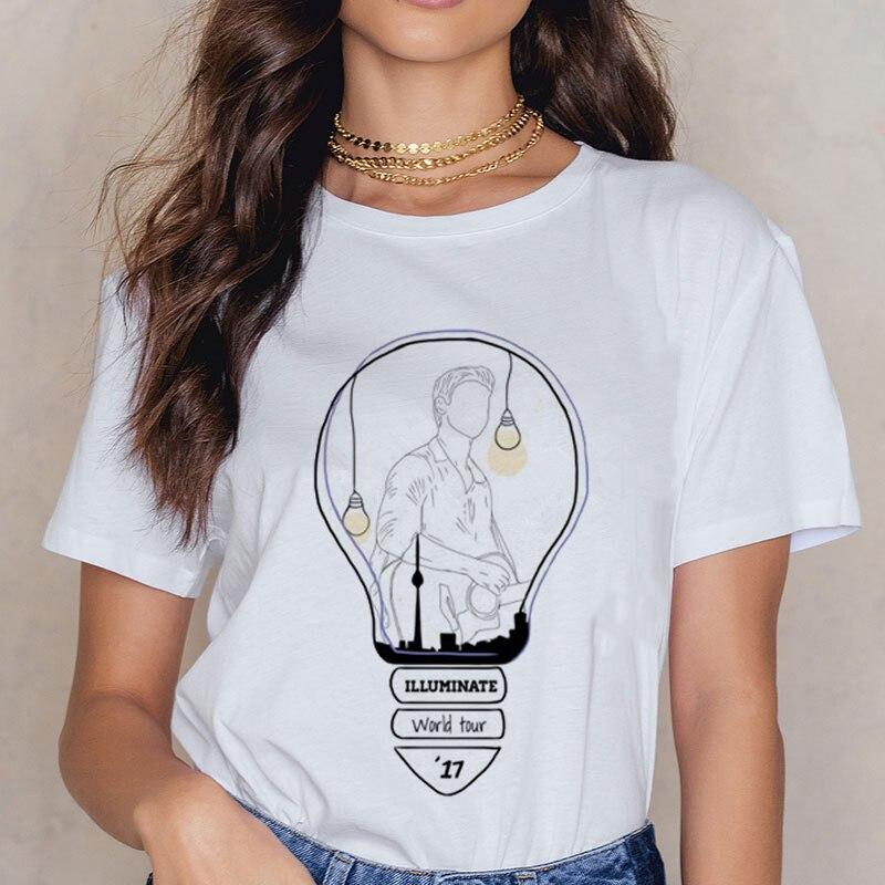 New Women Harajuku Ullzang  T-shirt 90s Graphic Funny Print Tshirt Summer Top Tees Female Shawn Mendes Funny Printed T Shirts
