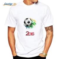 covrlge summer mans t shirt 2018 new fashion t shirts ball print male jerseys 100 cotton mens short sleeve tops tees mts473