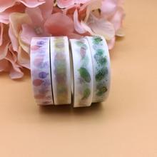 Watercolors Washi Tape Masking Tape 10X10m  Japanese adhesive tape Stickers  1pc
