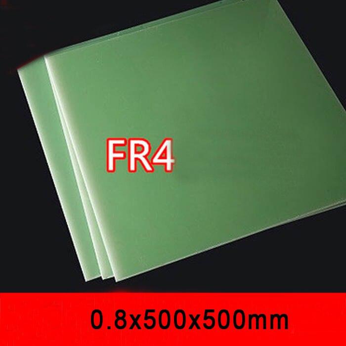 0,8mm dicke FR4 fiberglas blatt Wasser-grün epoxy platte 3240 FR-4 epoxy harz bord glas faser