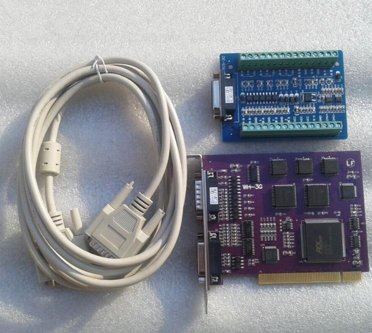 Máquina de gravura Weihong cartão PCIMC-3G servo volante cartão promoção reforçada 3-axis 3D cartão cartão de controle de movimento
