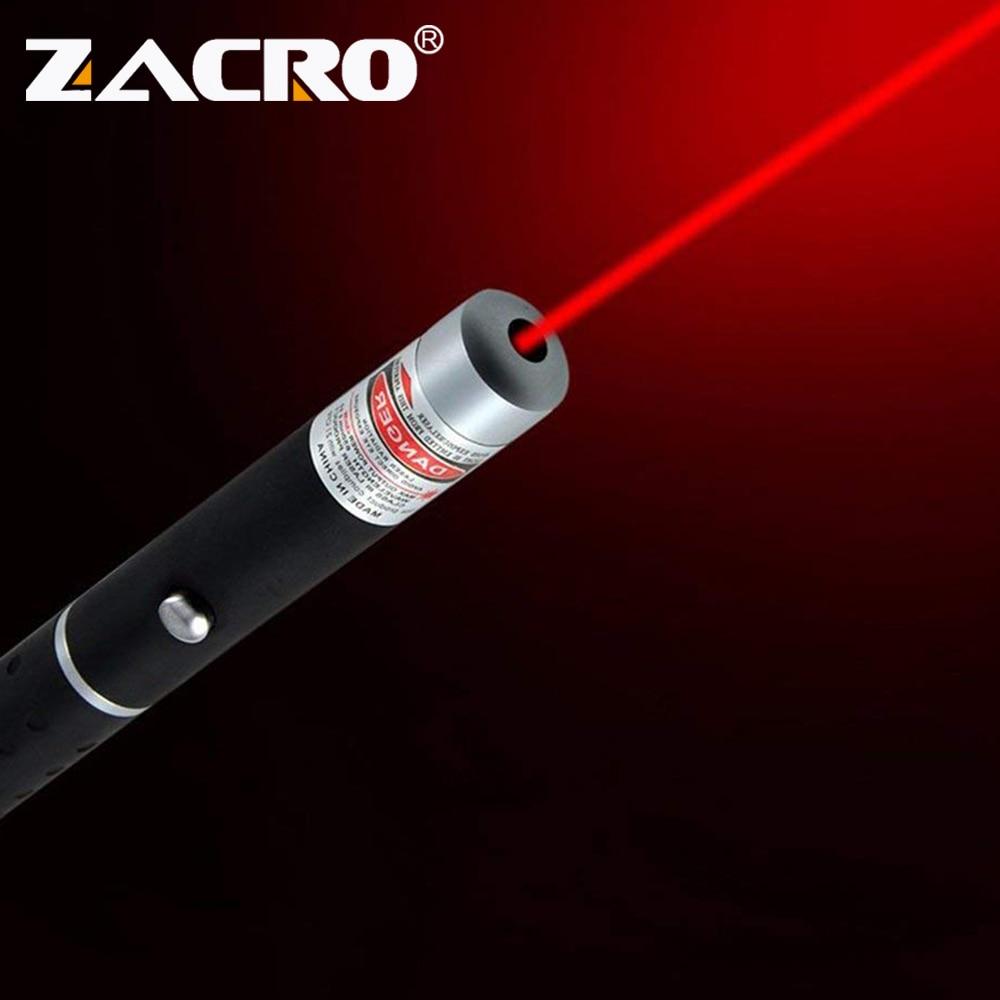 Zacro Laser Sight Pointer 5MW High Power Green Blue Red Dot Laser Light Pen Powerful Laser Meter 405Nm 530Nm 650Nm Green Lazer