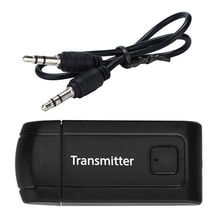 4,2 Stereo USB Audio Auto Adapter Für TV PC Computer Kopfhörer Bluetooth Transmitter Musik Dongle Tragbare Drahtlose 3,5mm
