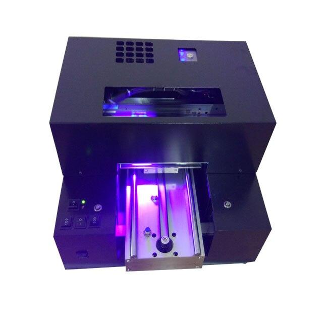 Placa da liga Alumimum automática impressora plana UV & TPU caso de telefone/Cartão de visita/Ball pen/máquina de impressão da Bola de Golfe etc