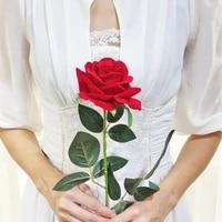silk roses eternal wedding flowers rose artificial flowers diy velvet silk flower for home decoration wedding holiday decoration