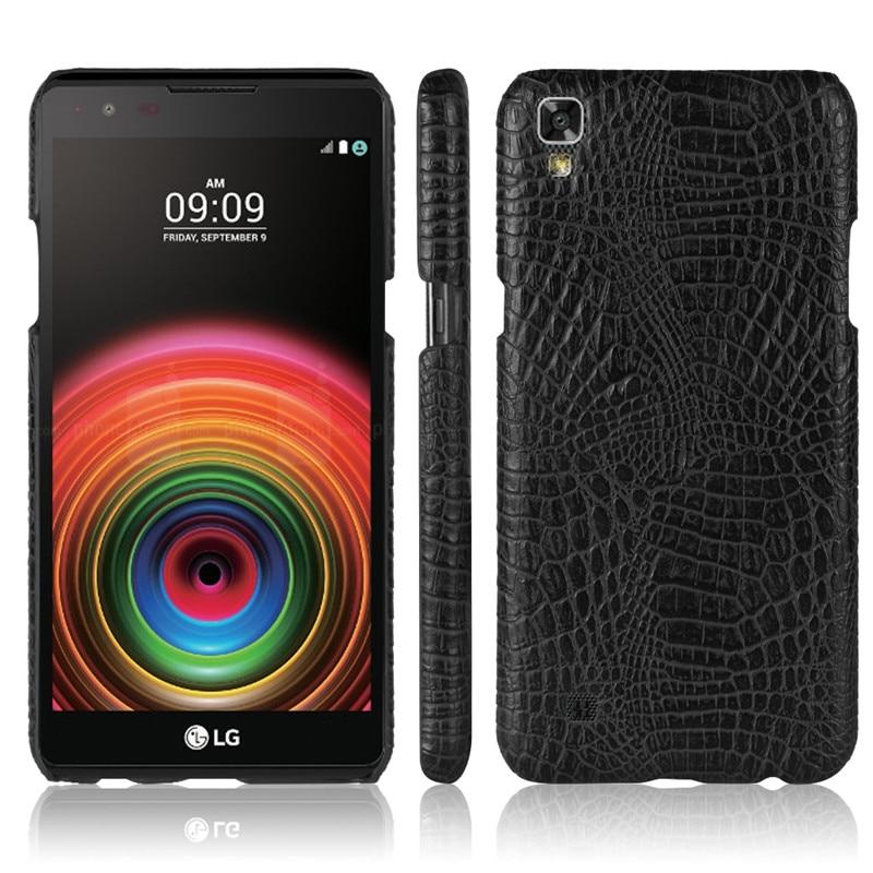 Funda de cuero para LG X Power K220DS XPower K220 carcasa parachoques de teléfono para LG X Power K210 K 210 220DS 220 funda rígida de PC con marco