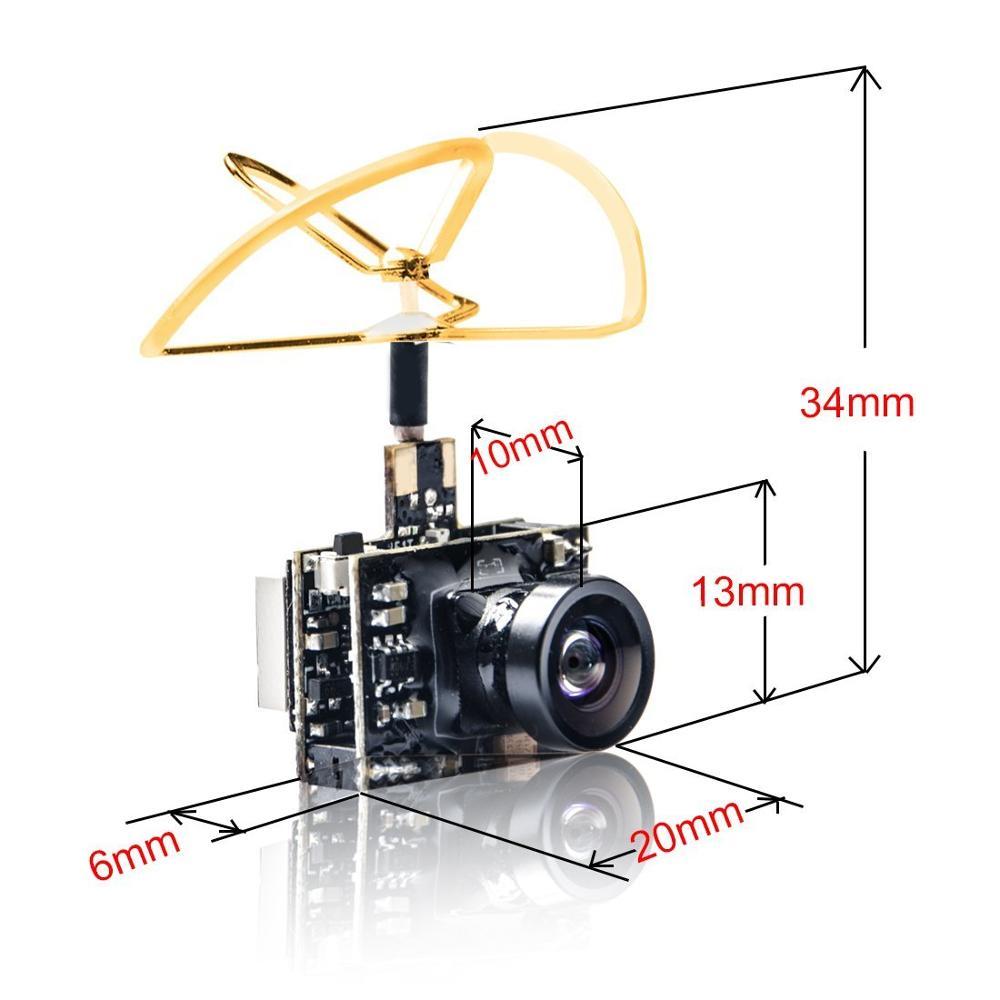 AKK A2 5,8 Ghz 40CH 200 передатчик mw fpv Raceband 600TVL 1/4 Cmos Mini FPV Micro AIO камера с клеверной антенной для FPV дрона