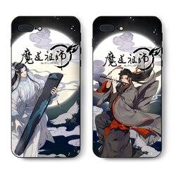 Mestre de Demoníaco Cultivo Wei Wuxian Lan wangji BL Tampa da Caixa Do Telefone Móvel Para o iphone Samsung 456789 s Além de Borda nota