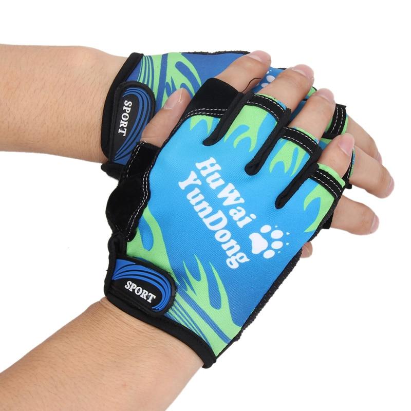 Bicycle Anti Slip Cycling Gloves Soft Washable Half Finger Outdoor Sports Fitness Training Summer Bike MTB Men Women Running