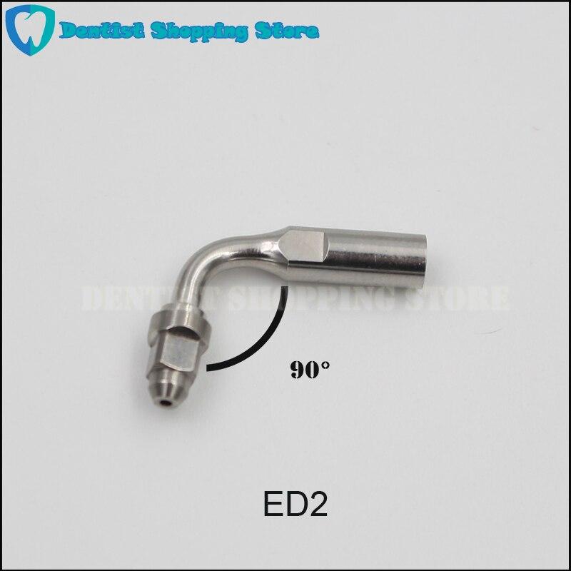 5 uds ED2 puntas para raspador dental escalador ultrasónico punta ED2 para SATELEC NSK GNATUS DTE