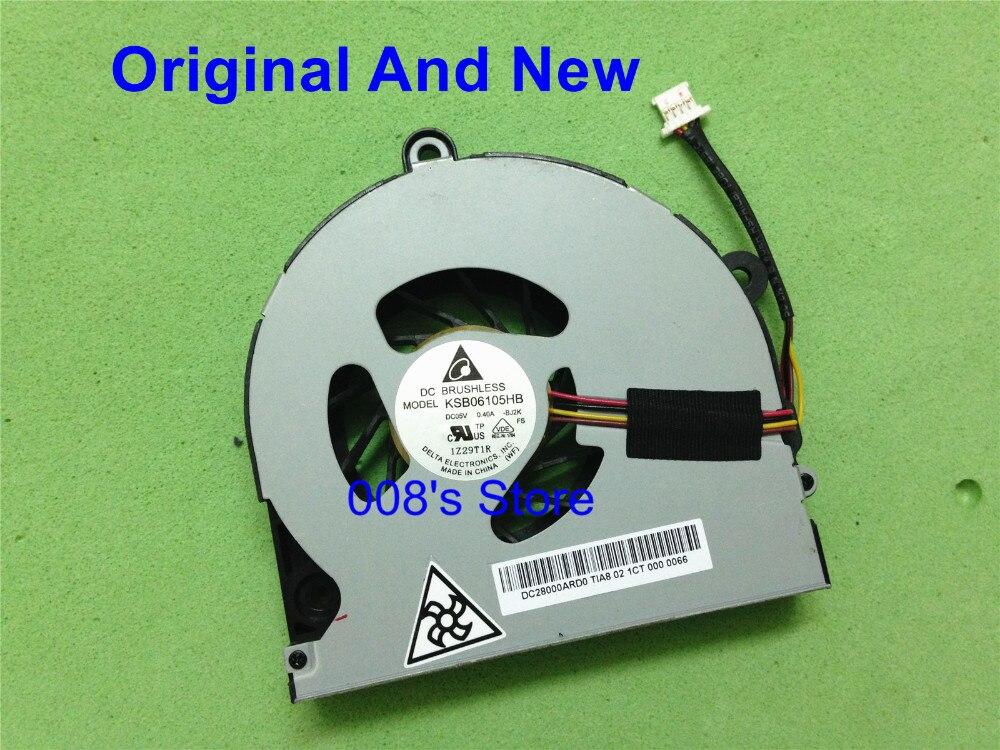 Кулер для охлаждения процессора Toshiba Satellite P770 P775 P770D P775D P850 P855 P855D KSB 06105hb DC 5 В 0.4A