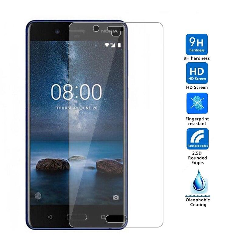 Vidrio templado para Nokia Lumia 830 520 530 435 620 9H 2.5D...
