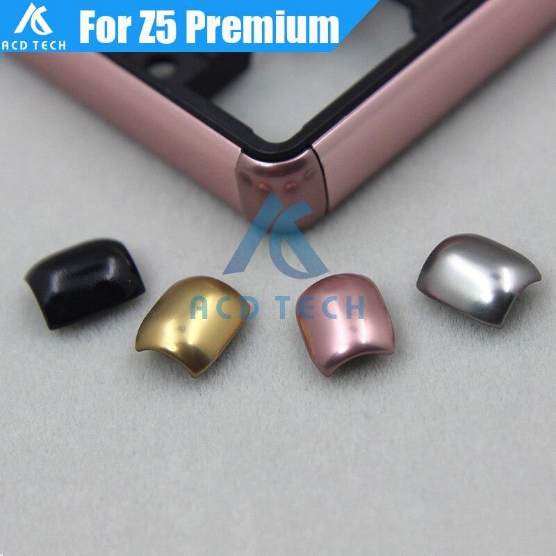 """Original novo ângulo de quadro médio canto para sony xperia z5 premium z5plus duplo z5p e6883 e6853 e6833 5.5 """"balck/espelho/ouro/rosa"""