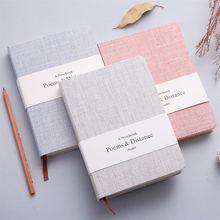 Blanc/Horizontal ligne carnet de croquis dessin journal école cahier papier carnet de croquis tendances créatives bureau fournitures scolaires cadeau