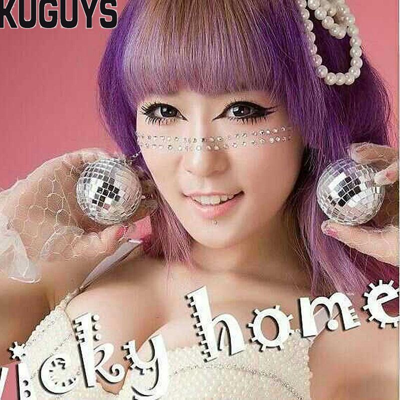 Pendientes de bola de espejo de Color plateado para mujer, joyería de moda de 4,5 cm y 3cm, accesorios para fiesta