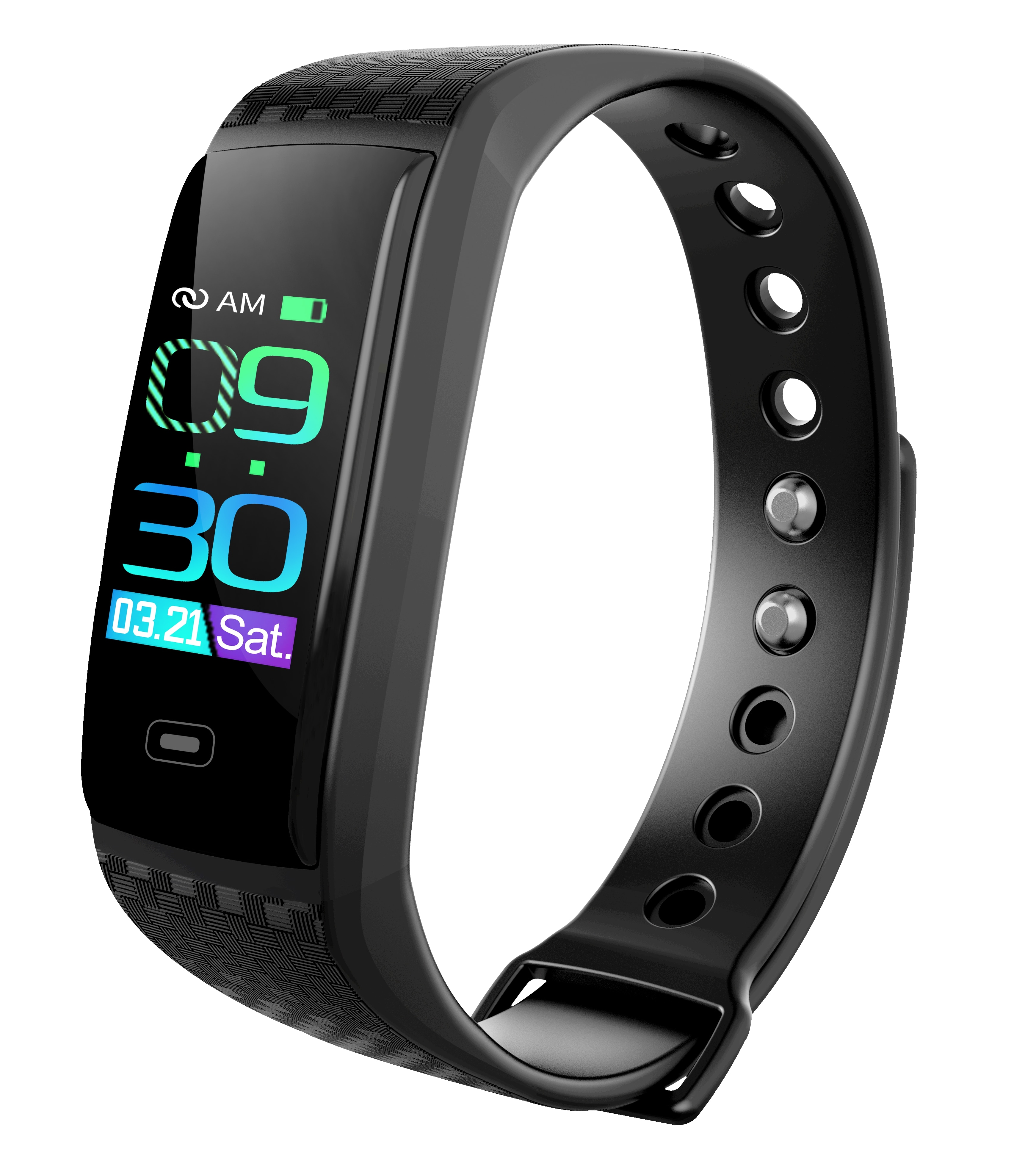 Reloj inteligente deportivo actividad de Fitness rastreador de ritmo cardíaco pulsera de presión arterial podómetro Smartband impermeable para IOS Android