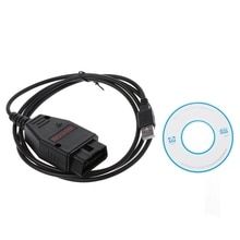 VAG K + CAN Commander 1,4 OBD2 диагностический сканер инструмент COM Кабель для VW Audi Skoda