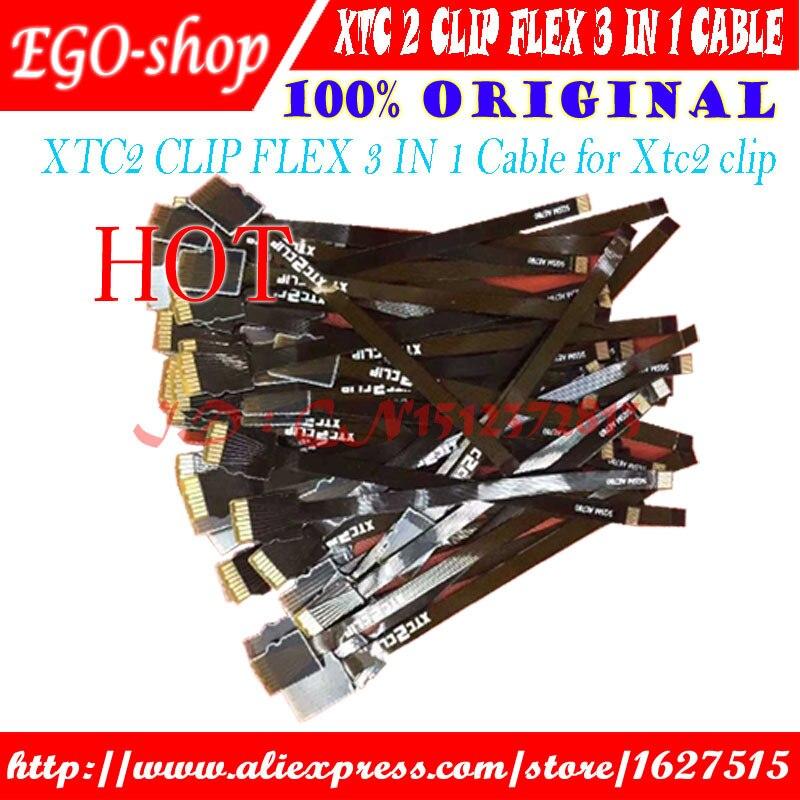 Gsmjustoncct XTC2 CLIP FLEX Cable 3 en 1