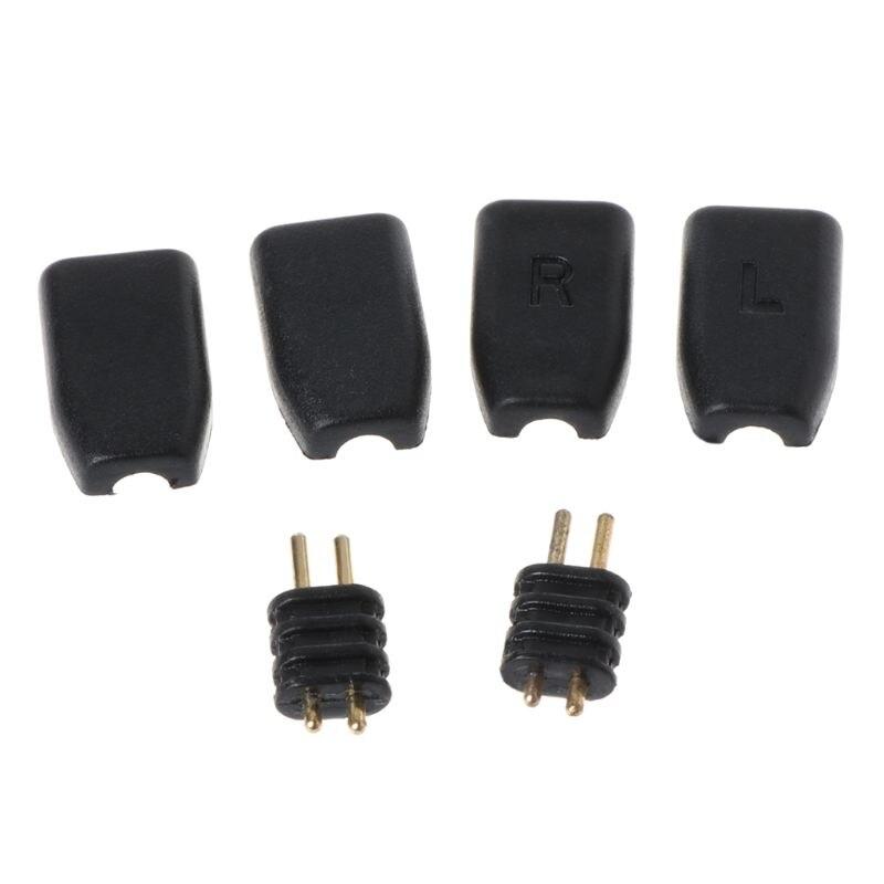 Nouveau 1 ensemble écouteurs broches prise Jack connecteurs pour ultime UE TF10 TF15 SF3 SF5 5PRO 5EB 0.75MM casque pour bricolage Audio câble