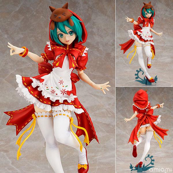 Аниме Хацунэ Мику Красная Шапочка 2nd ПВХ экшн-фигурка Коллекционная модель игрушки 25 см