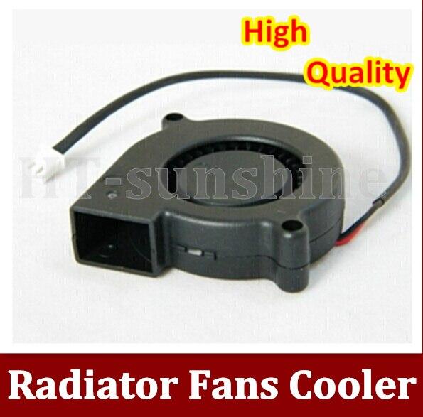 Alta Qualidade 200 PÇS/LOTE 5 CM 5015 12 V ventilador do ventilador turbina centrífuga ventilador de tamanho pequeno e de alta ar volume
