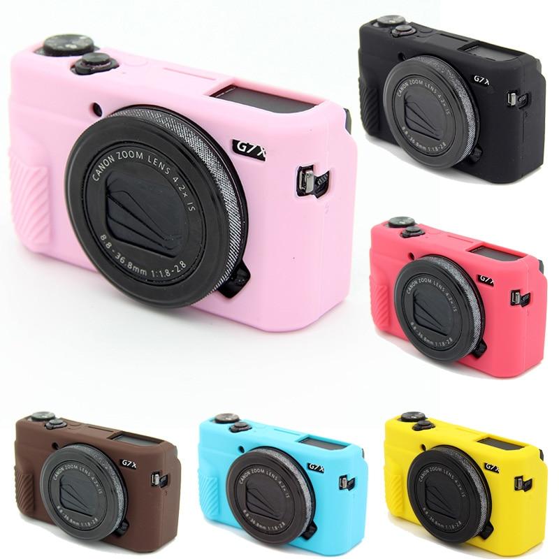 Силиконовый чехол для камеры Защитная крышка для Canon Powershot G7X Mark II G 7X Mark 2 G7X2 сумка для камеры