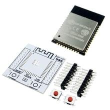 ESP32 ESP-WROOM-32 IoT Wifi Wlan BLE Modul + ESP-32S Adapter Board