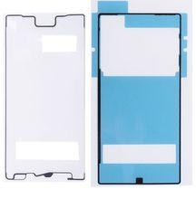 Autocollant de boîtier de cadre avant adhésif de couverture arrière de batterie pour Sony Xperia Z5 Compact/Z5 Mini E5803 E5823