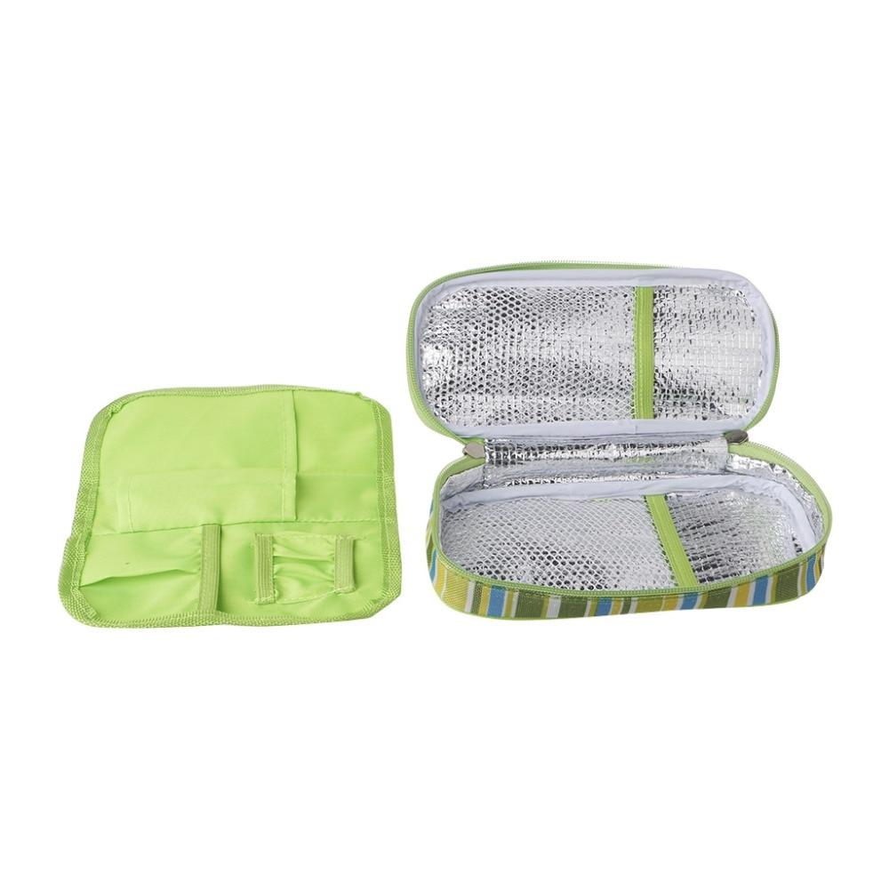 ZLROWR Портативная сумка холодильник для инсулина чехол ручки органайзер
