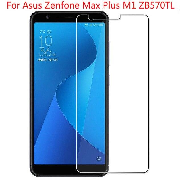 Cristal templado para Asus Zenfone Max Plus M1, cristal Protector de pantalla para Asus Zenfone Max Plus M1, ZB570TL X018D, cristal Protector X018DC
