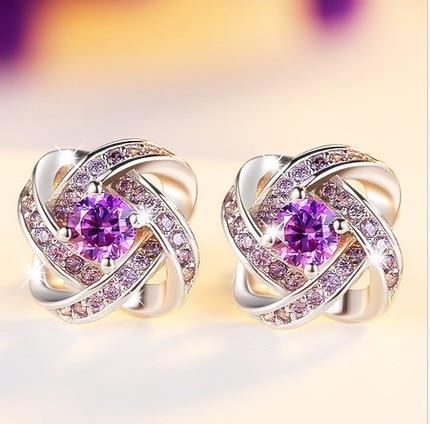 2020 promoção oorbellen pendientes mujer moda jóias brincos de cristal de design austríaco atraente mulher charme
