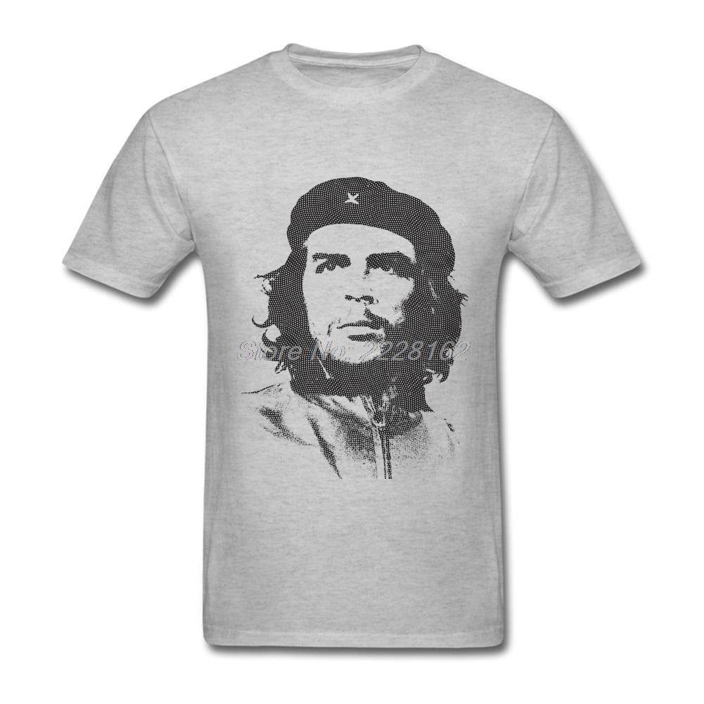 Vintage Style Print Own Hardcore T-Shirt Men Fabric Che Guevara Man T Shirt Popular Hipster Camisetas Tshirt