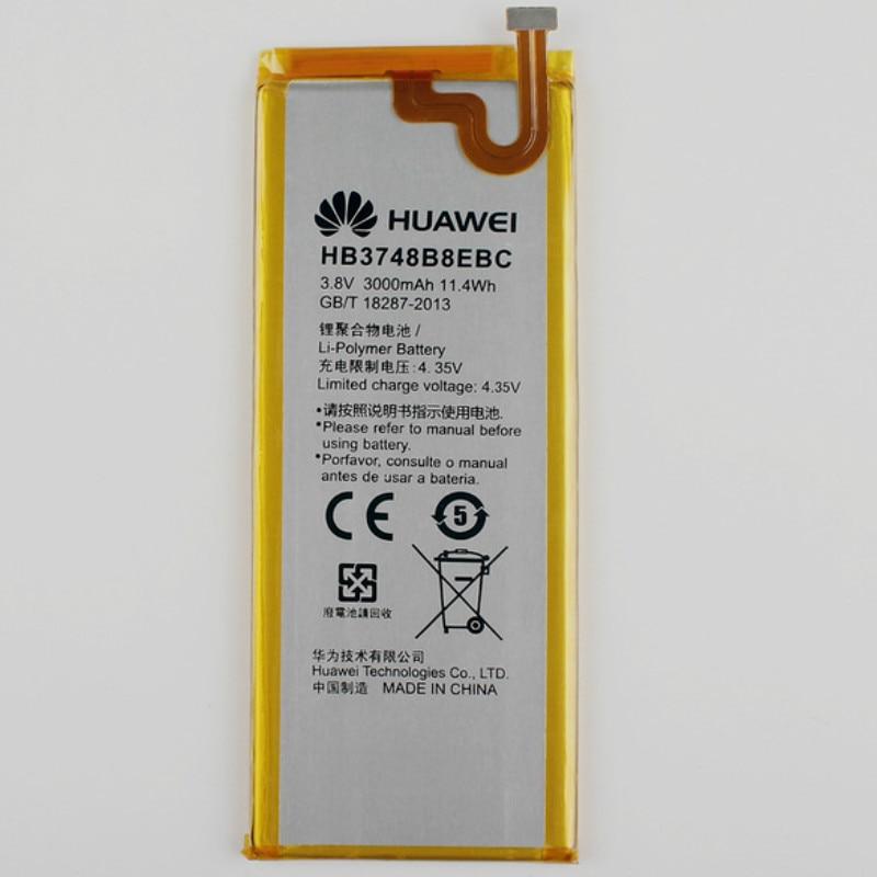 jinsuli Original for Huawei C199 Ascend G7 G7-TL100 Battery HB3748B8EBC 3000mAh For C199 C199-CL00 M