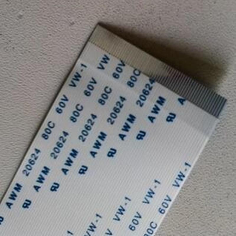 100 قطعة كابل الشريط 0.5 مللي متر 50 دبوس 105 سنتيمتر حجم FFC FPC كابل إلى الأمام